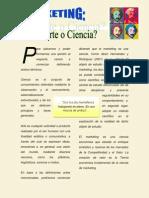 Artículo de Revista Marketing Arte o Ciencia