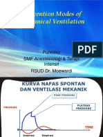 Convention Modes of Mechanical Ventilation. DR.purwOKO