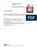 On the Justifiability of Compulsory Voting-reply to Lever