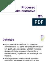 Processo Administrativo - Planejamento e Organização