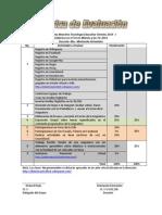 Rubrica de Evaluacion (Didactica Tercer Milenio y Las TIC 2014)
