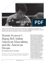 Martin Scorsese's Raging Bull, Italian American Masculinity, and the American Dream