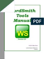 WordSmith Tools Manual v 6.0