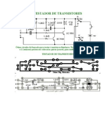 Testador de Transistores