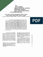 Factores de Riesgo Diarrea Infantil
