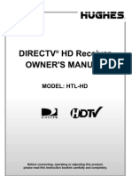 Hughes HD Receiver Manual HTL-HD
