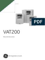 Manual VAT200 Spanish V08a
