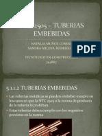 NTC 2505 – TUBERIAS EMBEBIDAS