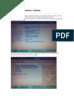 Tutorial Install Windows 71