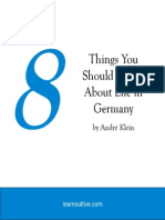 8 Things You Should Know About Life in Germany