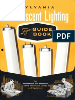 Sylvania Fluorescent Lighting Guide Book 1957