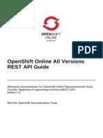 OpenShift Online 2.0 REST API Guide en US