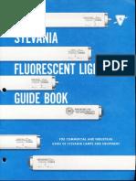 Sylvania Fluorescent Lighting Guide Book 1962