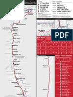 Caltrain System Map