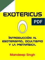 Introduccion Al Esoterismo, Ocultismo y Metafisica