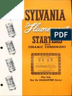 Sylvania Fluorescent Starters 1957 Brochure