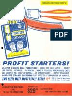 Sylvania Fluorescent Starters Assortment Bulletin 1963