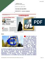 Journal Du Mois de Mai 2010 (Version Imprimable)