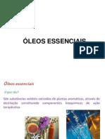 Organica - Curso de Aromaterapia -  Oleos essenciais.ppt