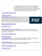 MTECHTIPS:- 20-01-2014 EQUITY INTRADAY TRADING CALLS