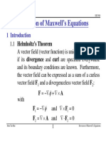 Revison of Maxwell Equations