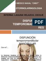 disfuncion temporomandibular INTERNAA LAGUNA SERVICIO  OTORRINO.ppt