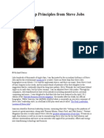 14 Leadership Principles From Steve Jobs
