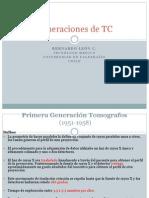 Generaciones de TC
