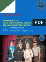 Materi KA BNN Provinsi Jambi
