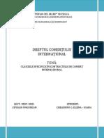 Clauzele Specifice in Contractele de CI