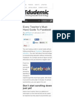 www edudemic com every-teachers-must-have-guide-to-facebook