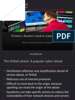 How to Protect Your Network From Protocol-Based DDoS Attacks