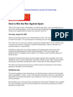 Pcquest How to Win the War Against Spam