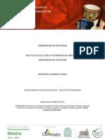 Plan Departamental Musica Documento Preliminar
