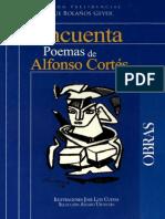 Cincuenta Poemas de Alfoso Cortes