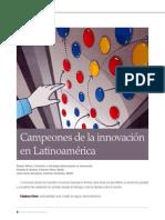 50 Campeones de La Innovacion en Latinoamerica