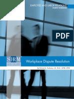 Workplace Dispute Resolution