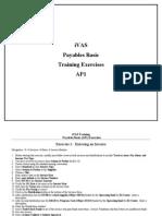 APS Payables Basic Training AP1 Labs