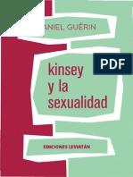 Daniel Guérin [1956] Kinsey y la sexualidad