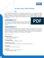 WE 204 - Bearing Root Cause Failure Analysis