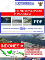 Port Reform and Dev in Indonesia