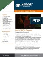 Andor Neo sCMOS Camera Flyer