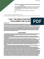 USP New Monograph Dissolution Automation
