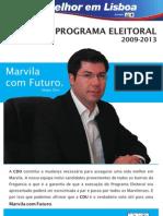 Programa Eleitoral Marvila Com Futuro