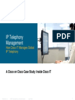Cisco IT Case Study IP Telephony Management-Print