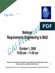 Requirements Engineering 1