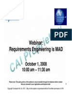 Requirements Engineering 1