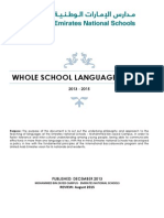 ens mbz pyp myp dp whole school language policy 2013 - 2015