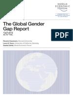 WEF GenderGap Report 2012
