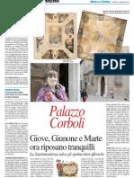 Giove, Giunone e Marte ora riposano tranquilli a Palazzo Corboli - Il Resto del Carlino del 16 gennaio 2014